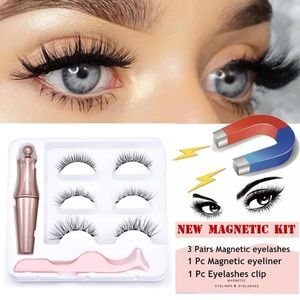 Other - Magnetic 3-D Mink eyelashes & liner and tools